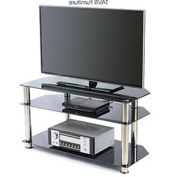 Corner TV Stand for Most 26-46 Inch Plasma LCD LED OLED Flat