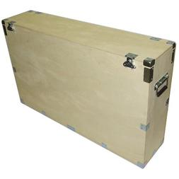 Crate Style Case for 42 Inch Plasma Lcd Led - 1/2 Inch Bare