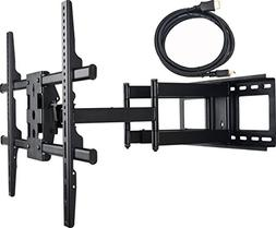 VideoSecu Dual Arm Articulating Wall Mount Bracket for Hitac