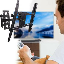 Flexible TV Wall Mount Full Motion Smooth Tilt Swivel Bracke