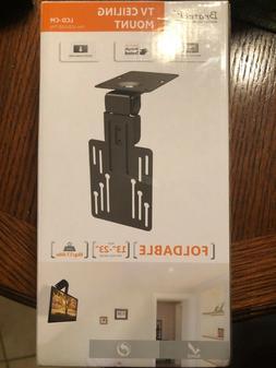 "Foldable TV Ceiling Mount - LCD/LED TVs - 13"" to 23"" - NIB"