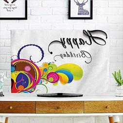 Front Flip Top Spiral Colorful Abstract Floral Elements Mode