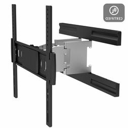 Full Motion Low Profile Wall Mount for Small TV inch LCD LED