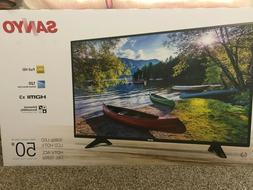 "Sanyo FW50D36F 50"" 1080p 60Hz LED LCD HDTV 3 HDMI PORTS NEW"