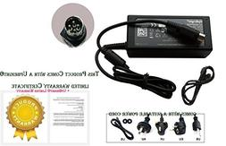 UpBright New Global 4-Pin DIN 12V AC/DC Adapter Replacement