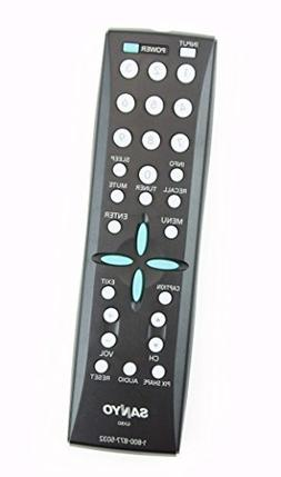 Sanyo GXBD LCD TV System Remote Control for DP26746, dp26748