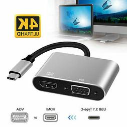 HD 1080P HDMI to USB 3.1 Video Cable Adapter Converter For P