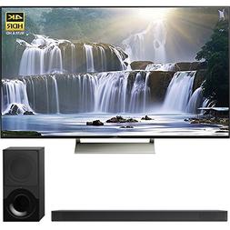 Sony 65-inch 4K HDR Ultra HD Smart LED TV 2017 Model  with S