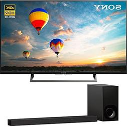 """Sony XBR55X800E 55"""" 16:9 4K HDR Edge Lit LED UHD LCD Android"""