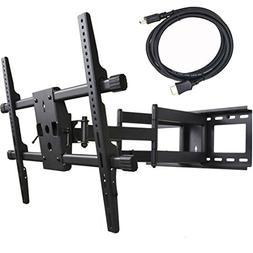 VideoSecu Heavy Duty Dual Arm Cantilever Swingout Articulati