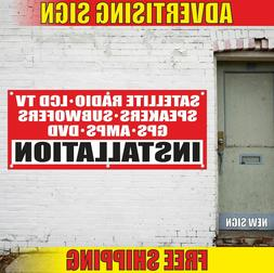 INSTALLATION LCD TV RADIO SPEAKERS GPS Advertising Banner Vi