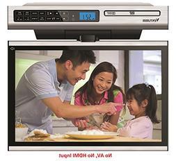 Venturer KLV3915 15.4-Inch Undercabinet Kitchen LCD TV/DVD C