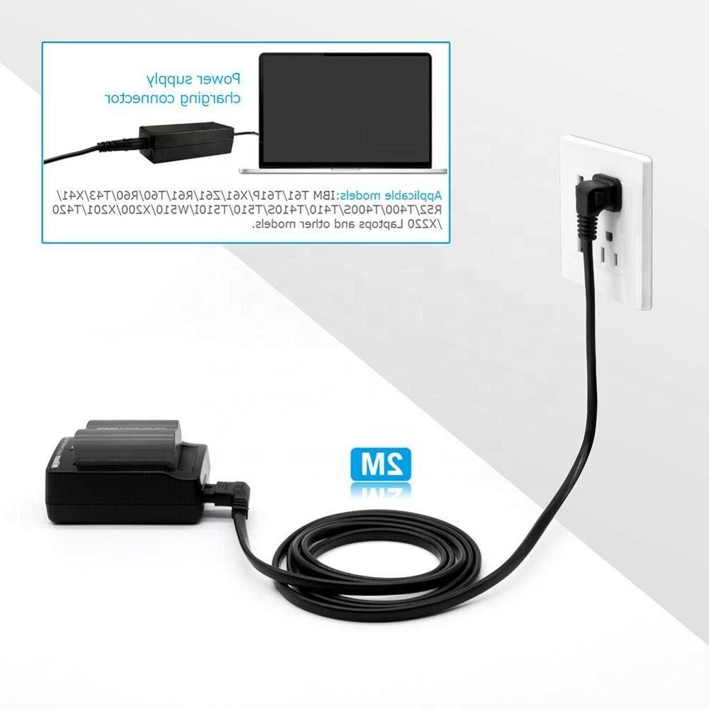 12Ft Long Prong LED LCD Vizio Samsung Ac Power Cord L-Type