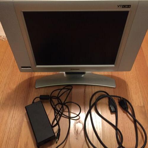 15mf605t 17 15 flat screen lcd tv