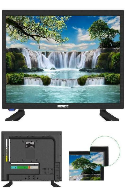 19 720P HD LED TV HDTV 60Hz Refresh Rate 16:9