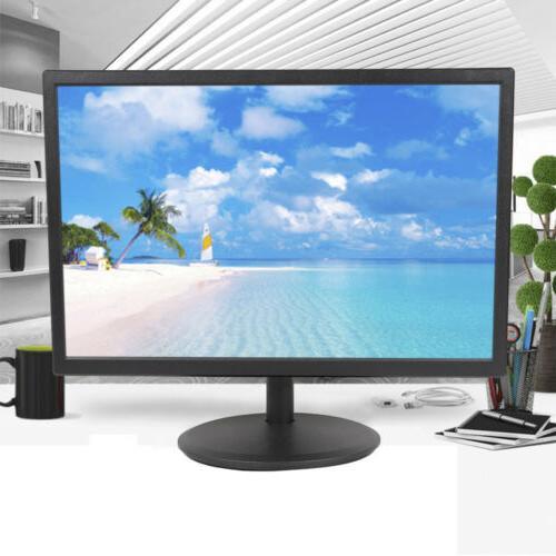 19 inch Portable Digital LCD TV Screen 16:10 HDMI VGA AV HD