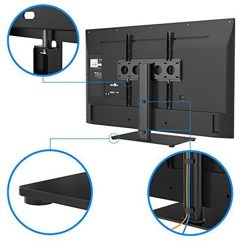 1homefurnit Table Pedestal Stand Bracket TVs