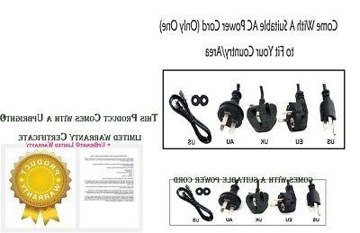 4-Pin 12V DC Adapter For 17MD255V/17 DVD Power