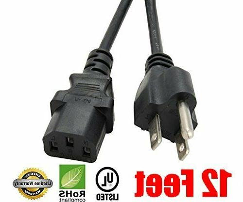 3prong ac power cord
