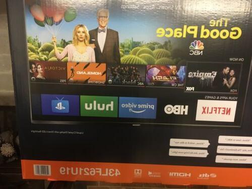 Toshiba 4K HD Smart with - Fire TV BOX
