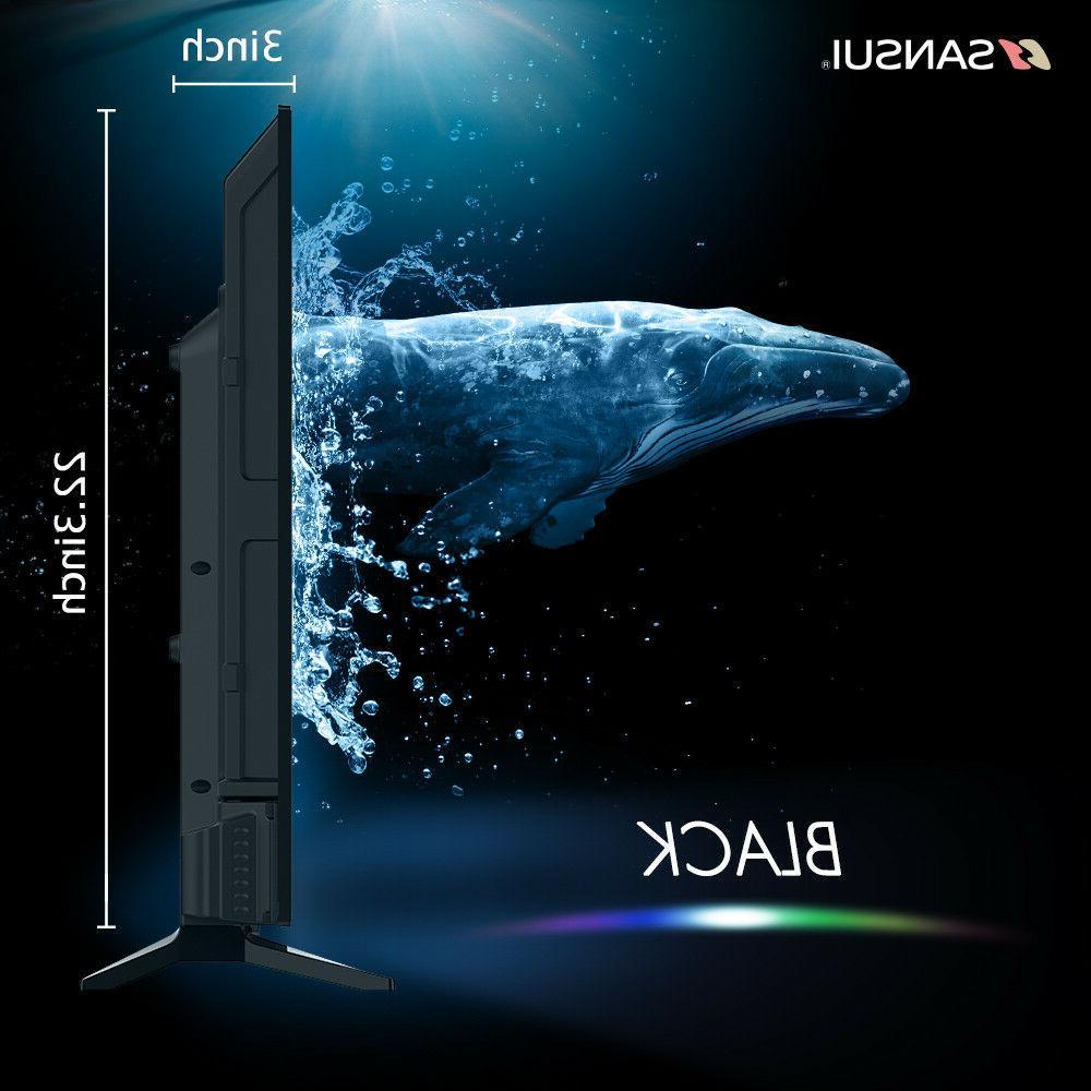 """Sansui 43"""" Inch 1080P LED 60hz TV w/ & HDMI"""