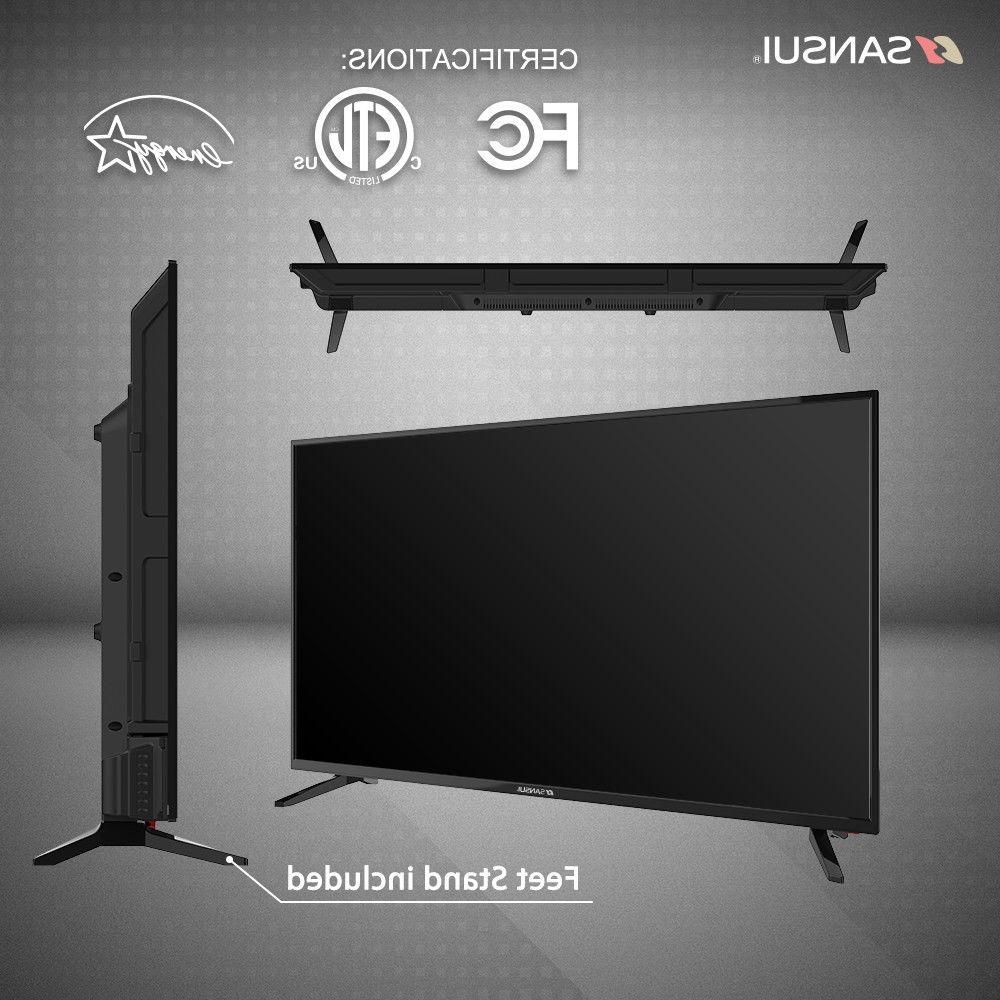 "Sansui 43"" 1080P LED LCD 60hz TV w/ & HDMI"