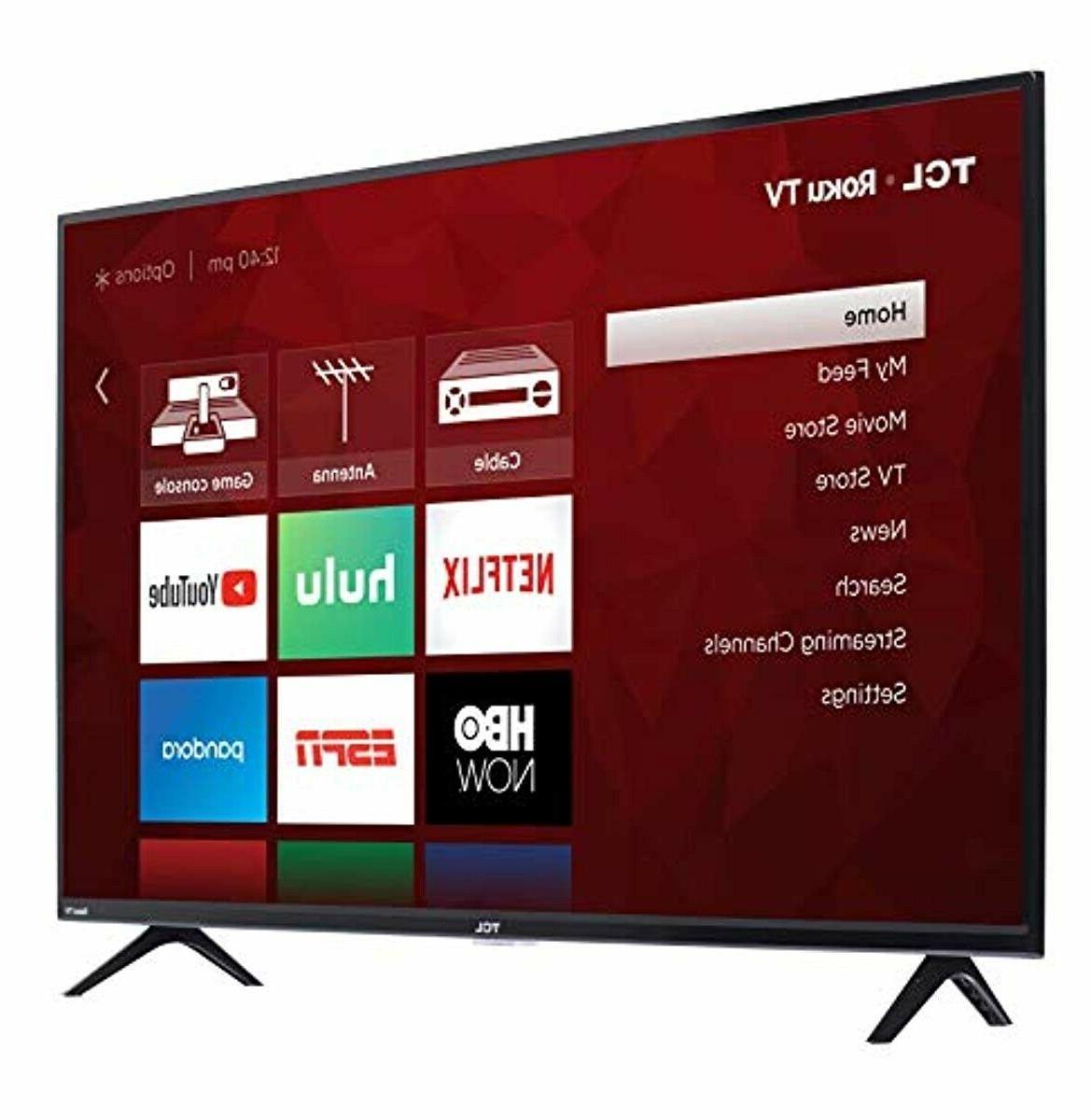 TCL 43S425 43 Inch 4K Ultra Roku TV