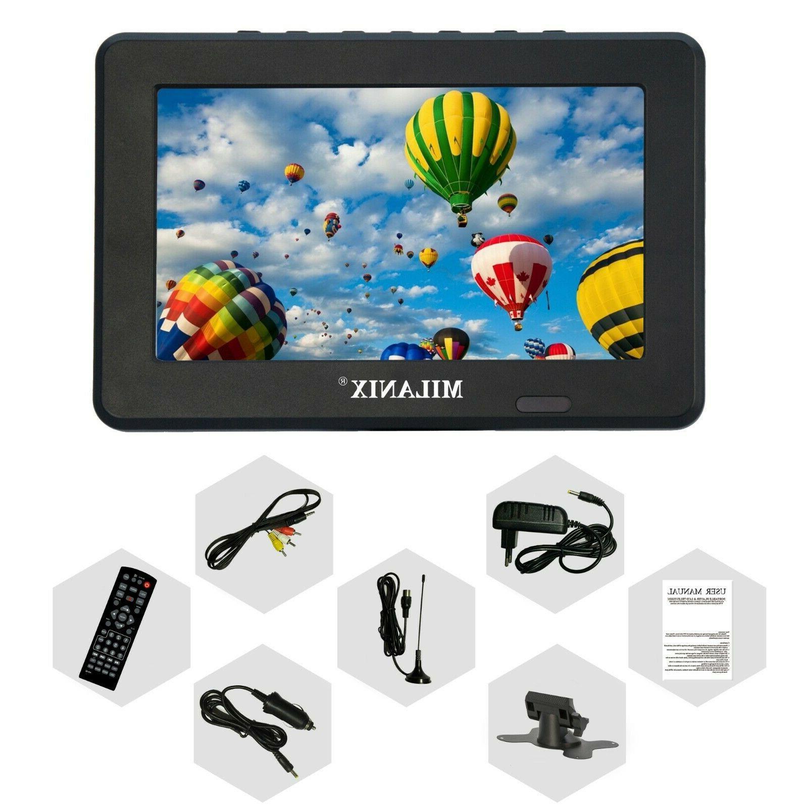 Milanix LCD w/ Digital TV Tuner & SD & In