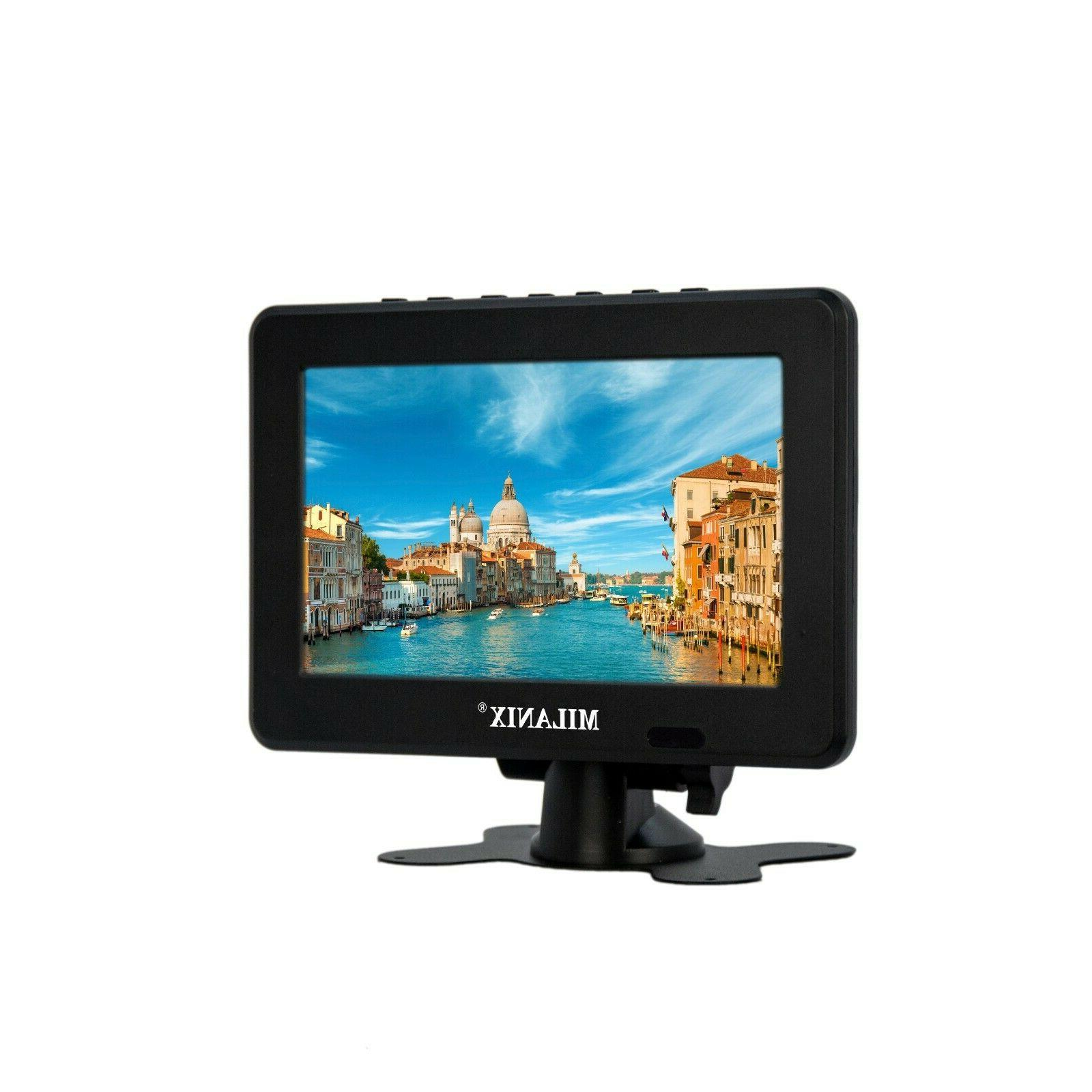 7 portable widescreen lcd tv w digital