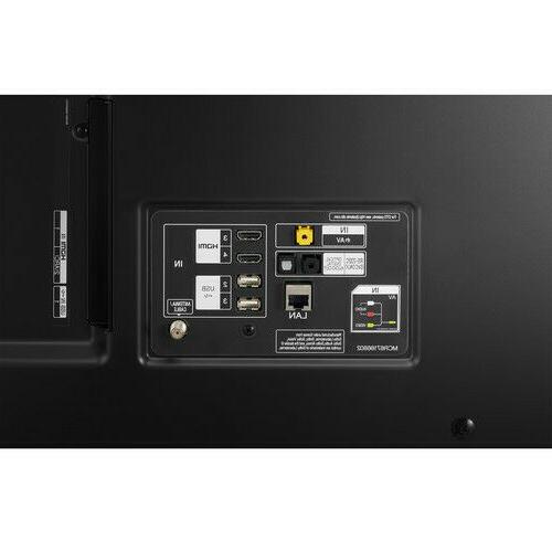 """LG 75"""" Black 4K HDR TV -"""