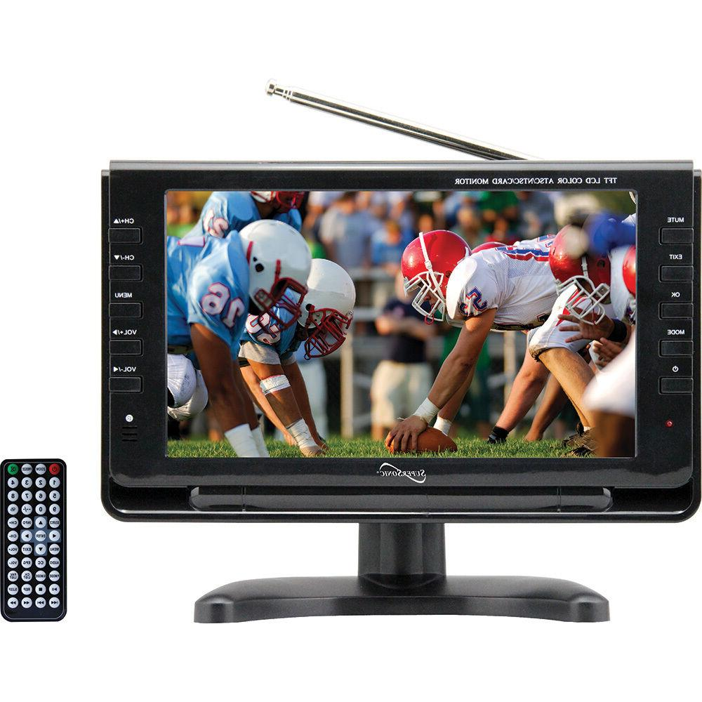 9 inch portable digital lcd tv ac