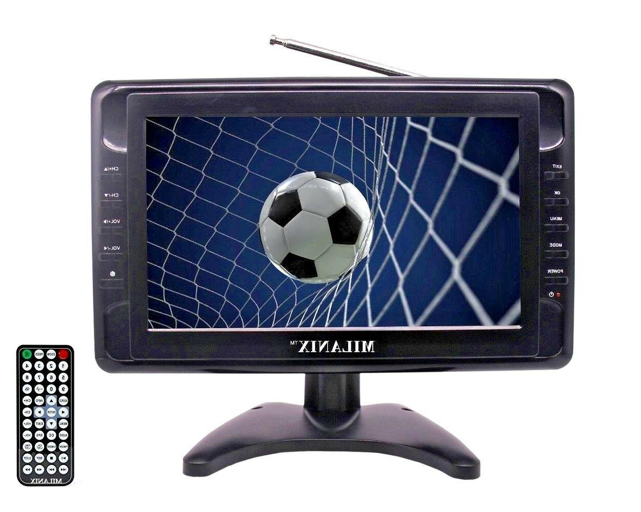 9 portable widescreen lcd tv w digital
