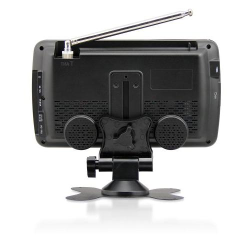 Axess 7-Inch LCD TV with Rechargeable Inputs,