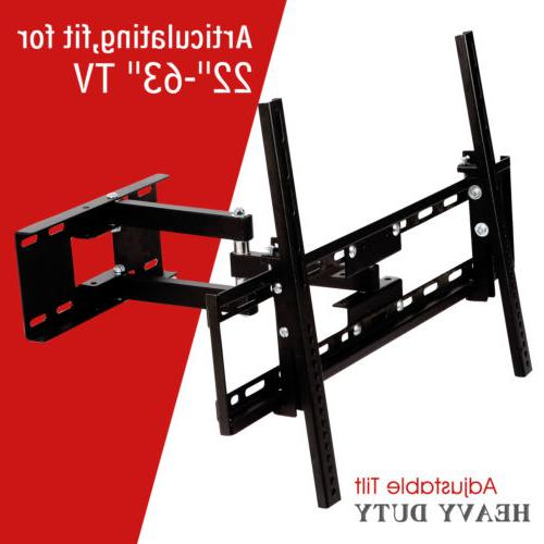 Full Motion TV Wall Mount Bracket 32 46 50 55 60 inch LED LC