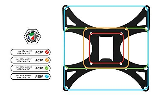 """Mount-It! MI-601 Full-Motion Swiveling, Articulating LCD Wall Mount Extendable Swing Out for 23"""" to 42"""" Flat Panel LED 4K TV Displays,66 lb"""
