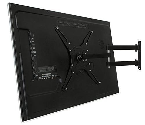 Mount-It Full Motion 4K Bracket for 23-55 inch Screen 400x400, 66 ,