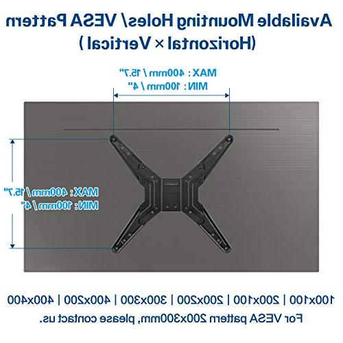 Mounting TV with Center Design for 26-55 Inch , Flat Screen TV , Mount VESA