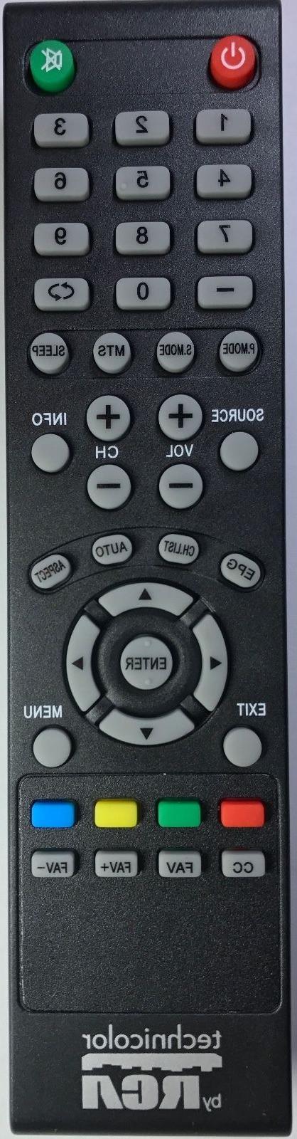 Original RCA TV Remote most LED LCD TVs