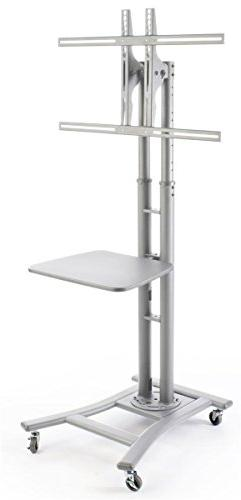 """Portable Flat Screen TV Stand for 32"""" to 70"""" Monitors Ha"""