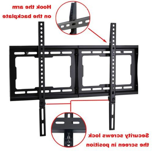 VideoSecu Low Profile Wall Bracket Most LCD HDTV, Samsung LG Panasonic Vizio Pioneer Toshiba