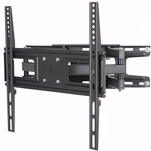 """VideoSecu TV Wall Mount Bracket most 32-65 Inch LED, Screen with Full Motion Tilt Swivel Dual 14"""" Extend, up 400x400mm,100"""