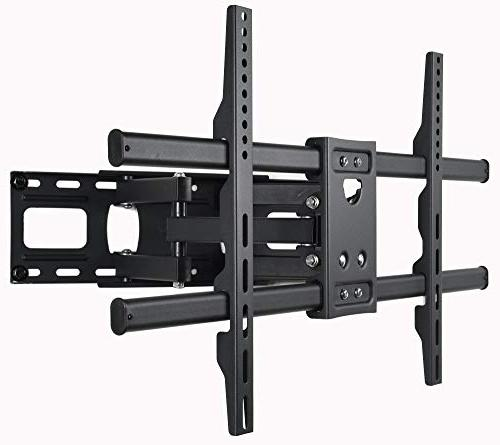 """VideoSecu Articulating TV Wall Bracket LED HDTV Up 125 lbs with VESA 400x400 Pulls Out Up 14"""""""