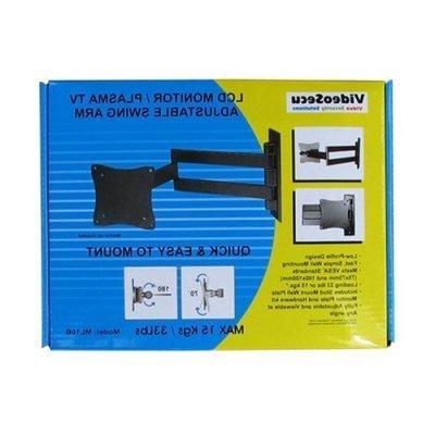 VideoSecu Wall Mount Articulating Monitor for some up to LED Plasma Screen TV with 100/75mm 1E9
