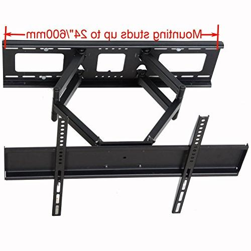 "Videosecu Tilt TV Wall Mount 32""- 70"" LCD with Up mm, Full Arm Fits Up to HDMI"