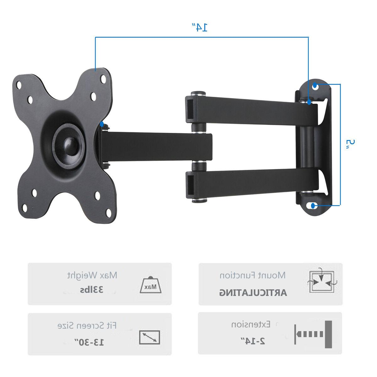 Articulating Mounts Extension Arm 13-30 TV Full