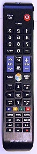 Samsung BN59-01198X LCD TV Remote Control for UN40JU6500F UN