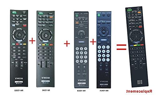 replaced remote control rm yd025