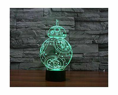 change protect 3d glow lamp