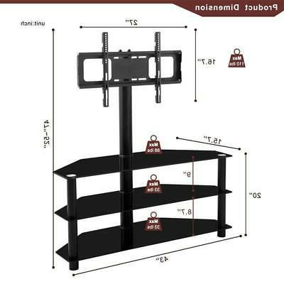 Corner with for 65 inch LED LCD