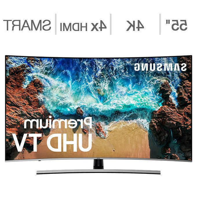 Samsung Curved HDR 4K LCD TV,
